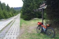 Plattenweg - der ehemalige Kontrollbereich an der Grenze