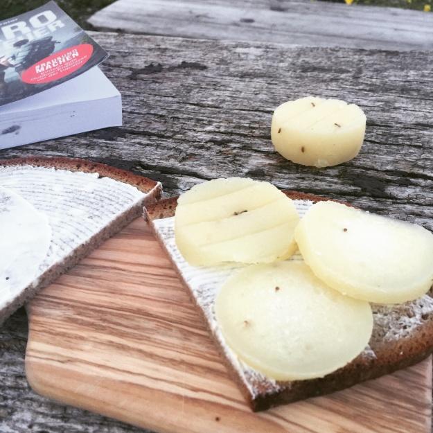ein Muss: Harzer Käse